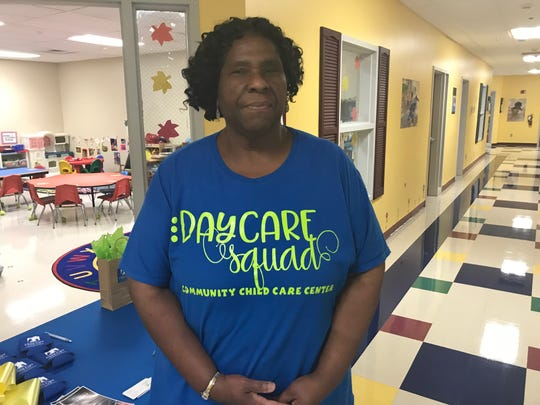 Annie Dixon, a teacher of 45 years at Community Child Care in Franklin, said the center feels like family, as if the children she watches grow up are her own.
