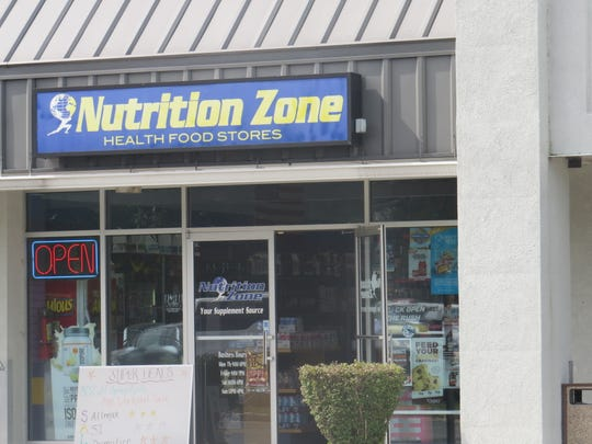The Rockaway location of Nutrition Zone on Route 46. Sept. 5, 2019.