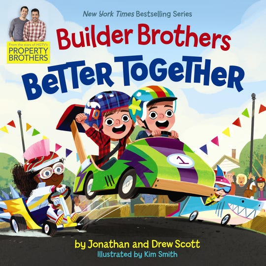 "Property Brothers Drew and Jonathan Scott are publishing their second children's picture book ""Builder Brothers: Better Together"" and will be at the Mall at Short Hills on Sept. 10, 2019."