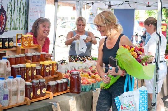 The Harvest Fest returns to the farmer's market Sept. 15.