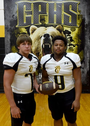 Church Point running backs Gavin Richard and Rodney Dupuis are again expected to provide much of the Bears' rushing load in 2019.