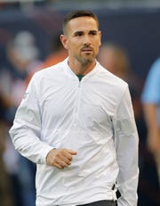 Green Bay Packers head coach Matt LaFleur walks on to the field against the Chicago Bears Thursday, September 5, 2019, at Soldier Field in Chicago, Ill. Dan Powers/USA TODAY NETWORK-Wisconsin