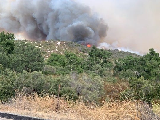 Fast-moving fire near Murrieta burns 150 acres; evacuations in effect for some La Cresta residences