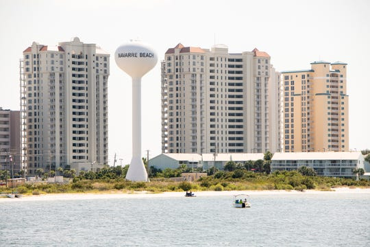 From spring break through Labor Day weekend, Navarre Beach reported record-high tourism and heavy traffic congestion on high-density weekends.