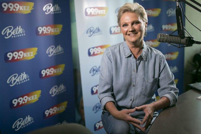 Beth McDonald  celebrates 35 years at KEZ in 2019.