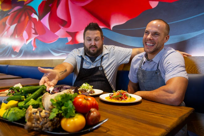 Vecina co-owners and chefs James Fox and Eric Stone wanted to bring a different type of restaurant to the Arcadia area.