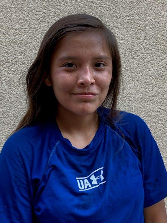 Ganado cross country runner Marissa Shorty