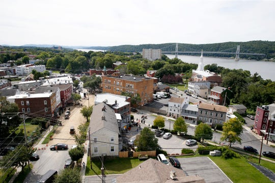 """A film crew from HBO transformed a portion of Mount Carmel Place in the City of Poughkeepsie to film scenes for """"I Know This Much is True"""" on September 5, 2019."""