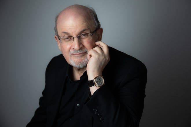 Salman Rushdie author of Quichotte.