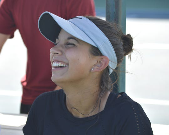 Isabelle Bahr, 17, will compete at the Ascension Project Women's Open at Sun  Oaks Tennis and Fitness in Redding.