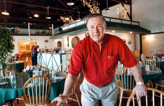 Traeger Grills founder Joe Traeger is shown in 1997.