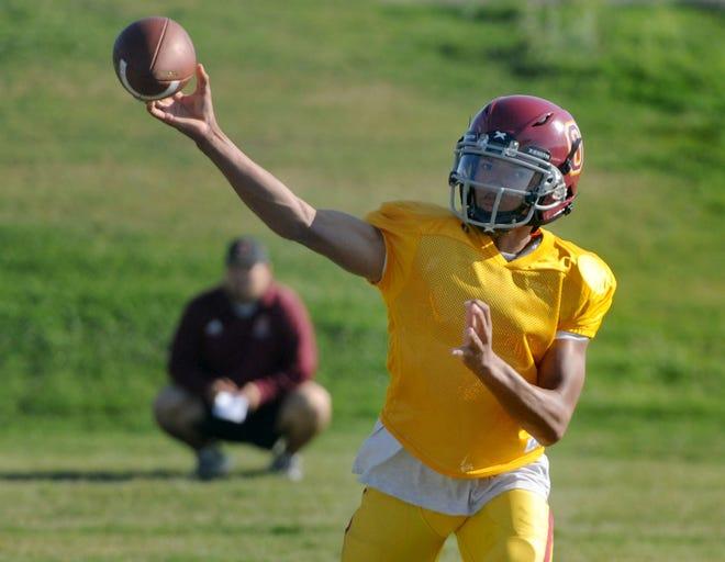 Quarterback Jaden Jones is leaving Oxnard High to play for Westlake.