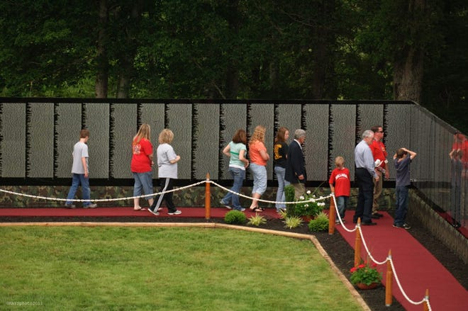 A half-size scale model of the Vietnam Memorial in Washington, D.C., will visit Buena Borough from Oct. 3 to 7.