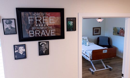 """Some of the past residents of Visalia's Ruth Wood Open Arms Hospice House were veterans. It is one of only three such """"social hospice"""" homes in California."""