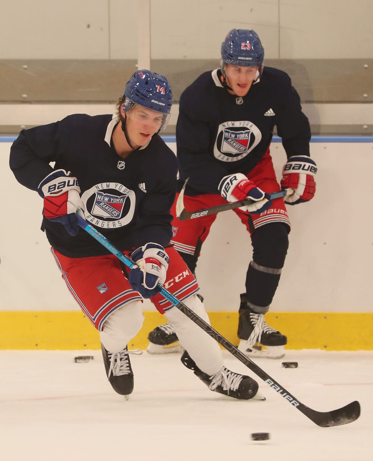 Notes from NY Rangers prospect practice before Traverse City