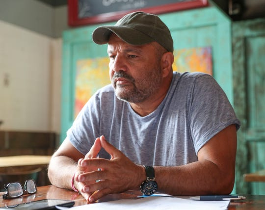 Isaac Hershko, owner of the Brickhouse in Nyack photographed on Thursday, September 5, 2019.