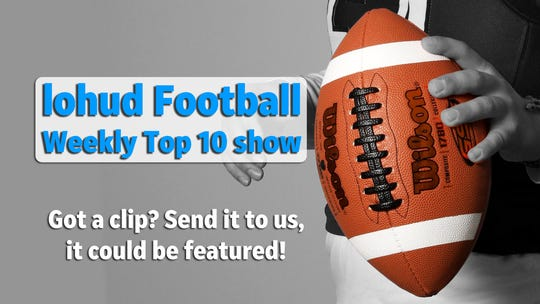 Promo image for the lohud Football Weekly Top 10 show
