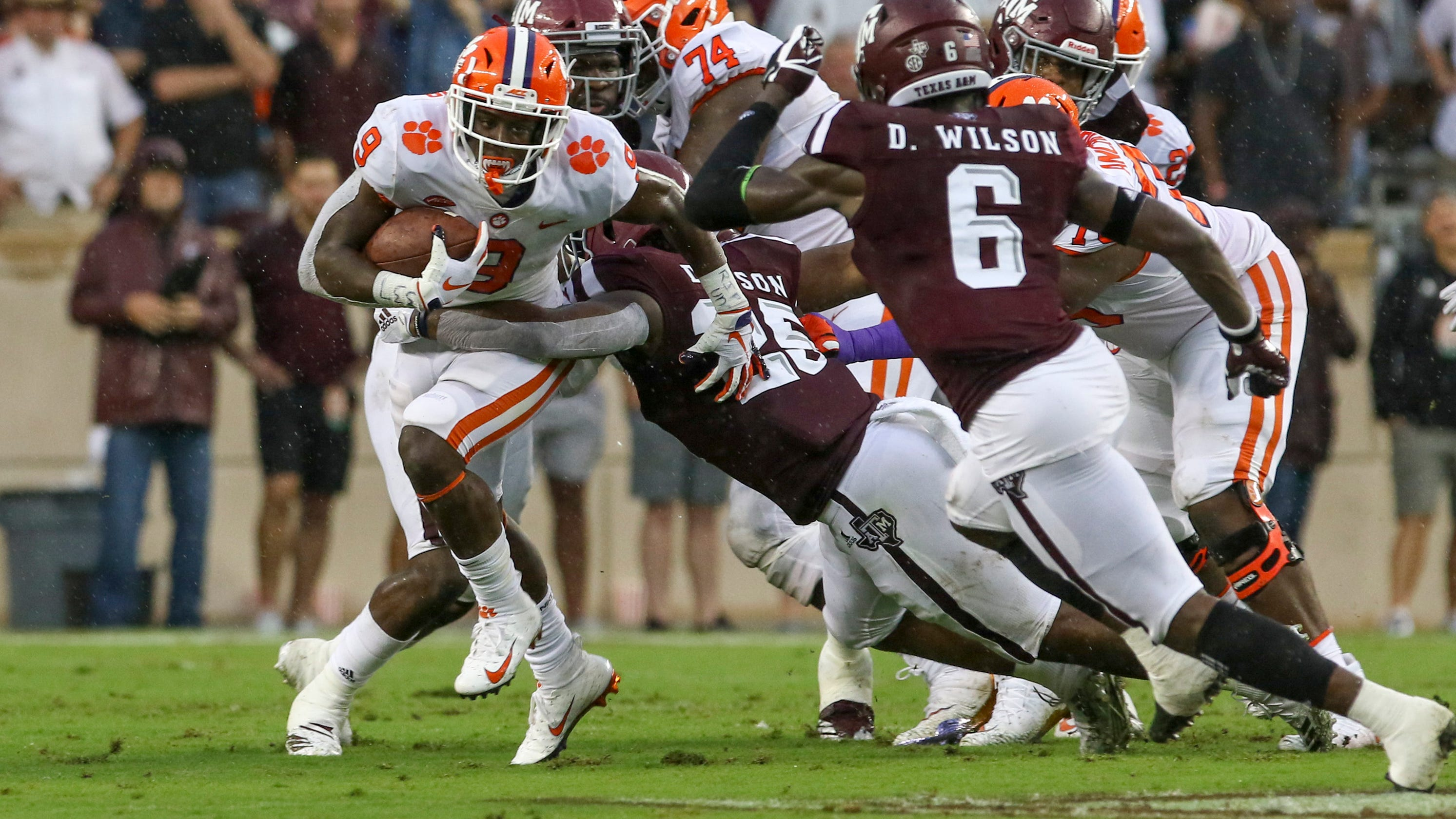 College football staff picks on Week 2 for Clemson-Texas A&M
