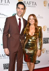 Sacha Baron Cohen and Isla Fisher married in 2010. They have three children.