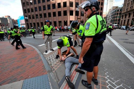 Straight Pride Parade arrests ignite legal drama in Boston