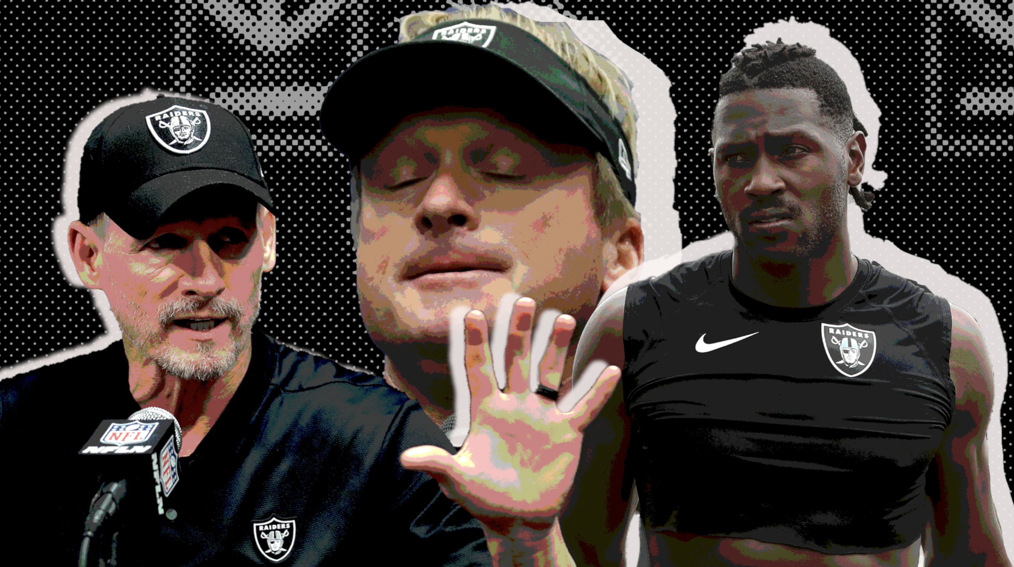 cheap for discount fdbaf 018fa What's next for Antonio Brown and the Raiders?
