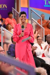 "Former ""Today"" anchor Tamron Hall says she wants her talk show audience, ""to be as close as humanly possible. It's not a gimmick ... I'm a hugger, I'm a toucher – I like that interaction."""