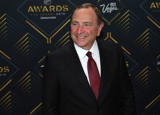 """""""We're at your disposal,"""" NHL Commissioner Gary Bettman says about holding additional labor talks."""