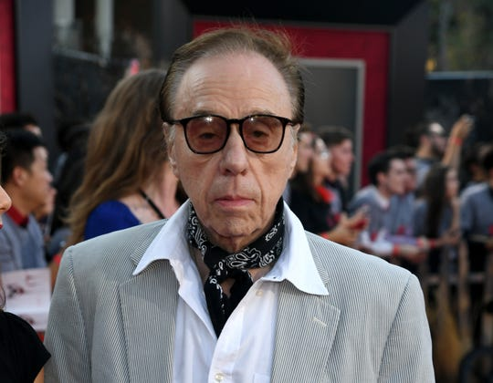 """Peter Bogdanovich arrives at the premiere of """"It: Chapter Two,"""" which features a cameo by the Oscar-nominated director."""