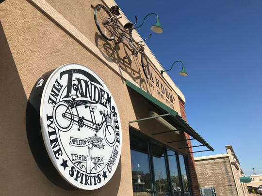 Tandem, a wine, beer and spirits store in Appleton, will stay in its current location until its new home is ready
