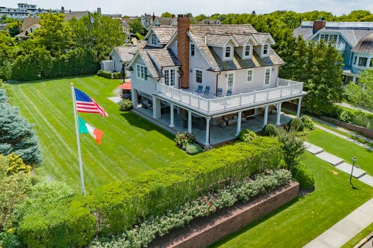 Spring Lake home at 15 Saint Clair Ave offers glorious water views
