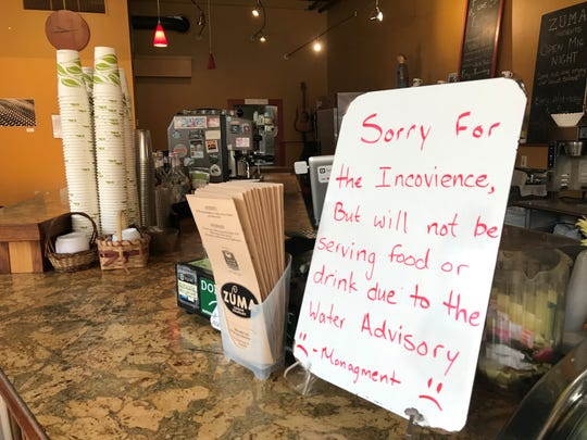Marshall restaurants were ordered to remain closed Sept. 6 due to positive tests for E. coli in the town's water system.