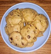 Lovina's daughters made a batch of zucchini cookies this week and everyone loved them.
