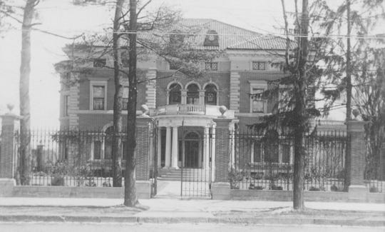 The Roberson mansion was home to the historical society from 1954 to 2000.
