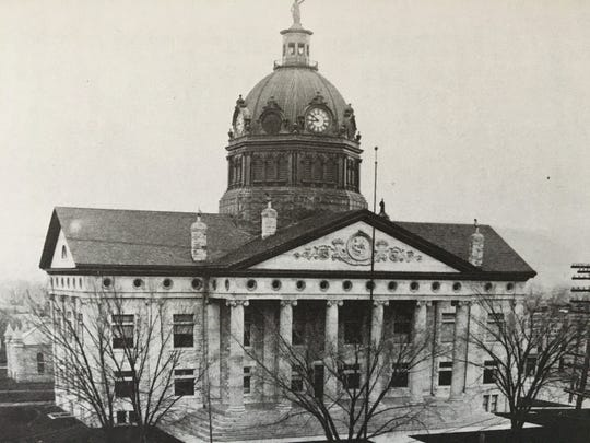 The Broome County Courthouse held the Society's History Museum during the 1940s to the mid-1950s.