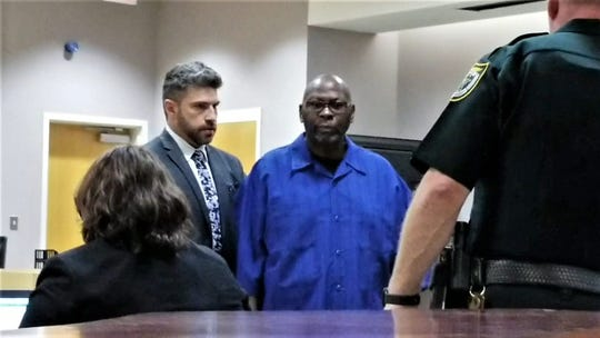 Willie Shorter appeared in court Mar. 7 with his attorney Daniel Martinez. A former caregiver at Bridges in Rockledge, Shorter was accused by police of sexual battery on a woman with disabilities under his care.