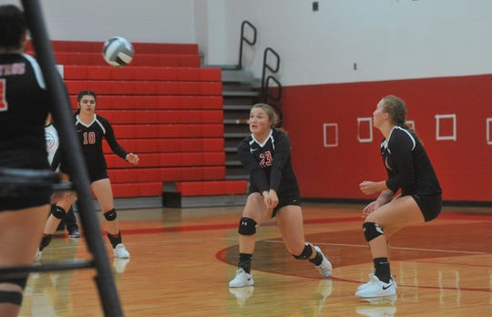 Bucyrus' Jordann Whitmore was named third team All-District 6 in D-III.