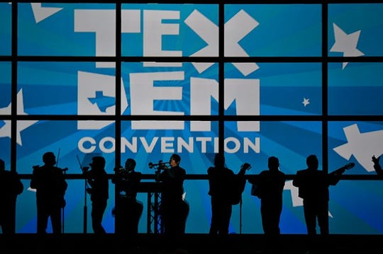 File: The 2016 Texas Democratic Party Convention in San Antonio