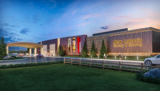 Rendering of the New Latonia Racing & Gaming Churchill Downs hopes to build in Northern Kentucky.
