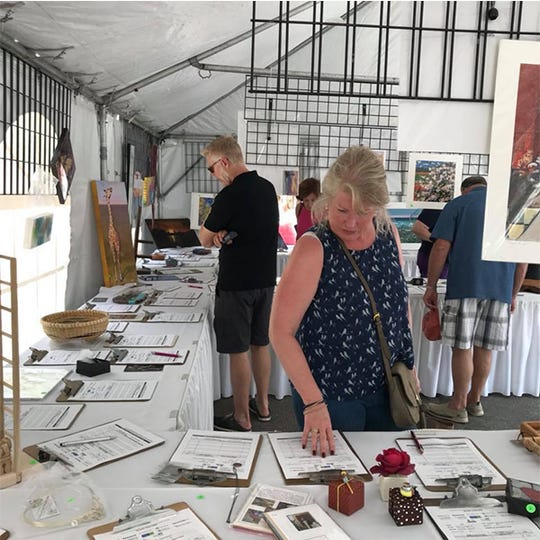 A silent auction to benefit Common Ground is part of the Birmingham Street Art Fair.