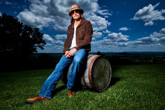 Kid Rock performs Friday and Saturday at DTE Energy Music Theatre.