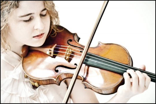Violinist Caroline Goulding will perform at Lexington Bach Festival concerts Saturday and Sunday.