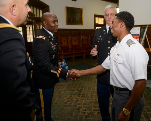 West Point leadership workshop gives glimpse into academy life, changing military