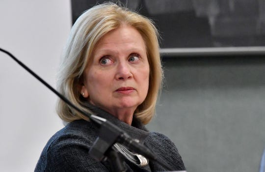 June Youatt resigned as provost at Michigan State University.