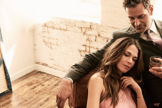 """For five seasons of """"Younger,"""" Sutton Foster's Liza has chased after Peter Hermann's Charles, but their onscreen union hasn't exactly been """"happily ever after."""" For a romantic comedy entry, that's refreshing. (TV Land/TNS)"""