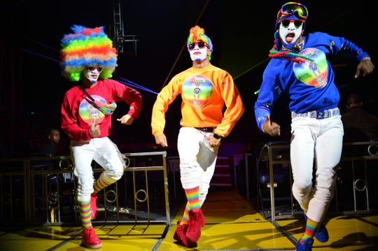 Fresh the Clownsss at UniverSoul Circus.
