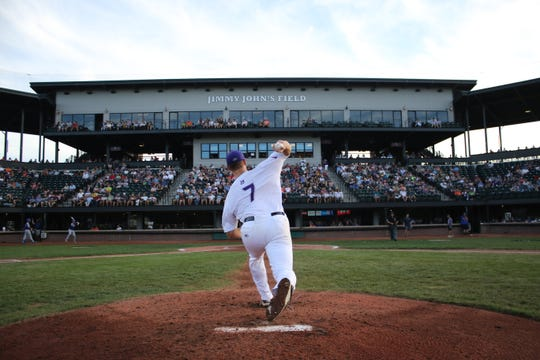 Ty Hensley is reviving his professional baseball career in the USPBL.
