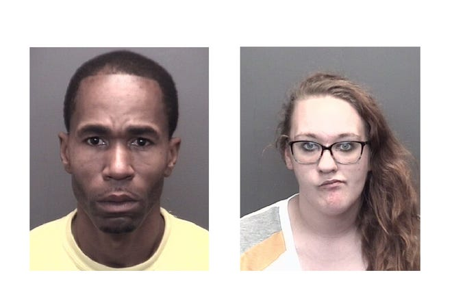 Larry Wilson and Terra Thompson both face six felony charges in connection with an Evansville drug investigation.