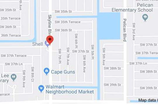 A 48-year-old man died Thursday night when he pulled his motorcycle into the path of a van, Cape Coral Police say. The crash occurred at Skyline Boulevard and SW 37th Street.