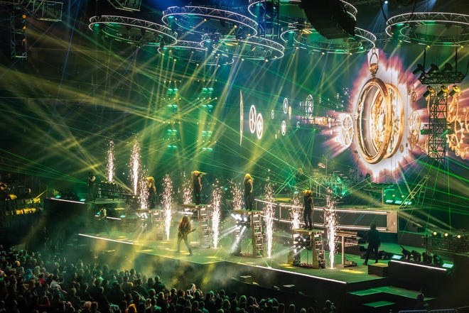 Performing in the style of Trans-Siberian Orchestra, The Prophecy will take the Saenger stage on Saturday.