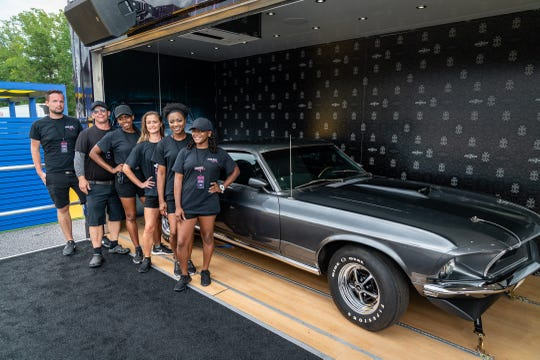 "The Mustang from the first two ""John Wick"" movies will be parked outside Lambeau Field from 8 a.m. to noon Sept. 15 for photos."